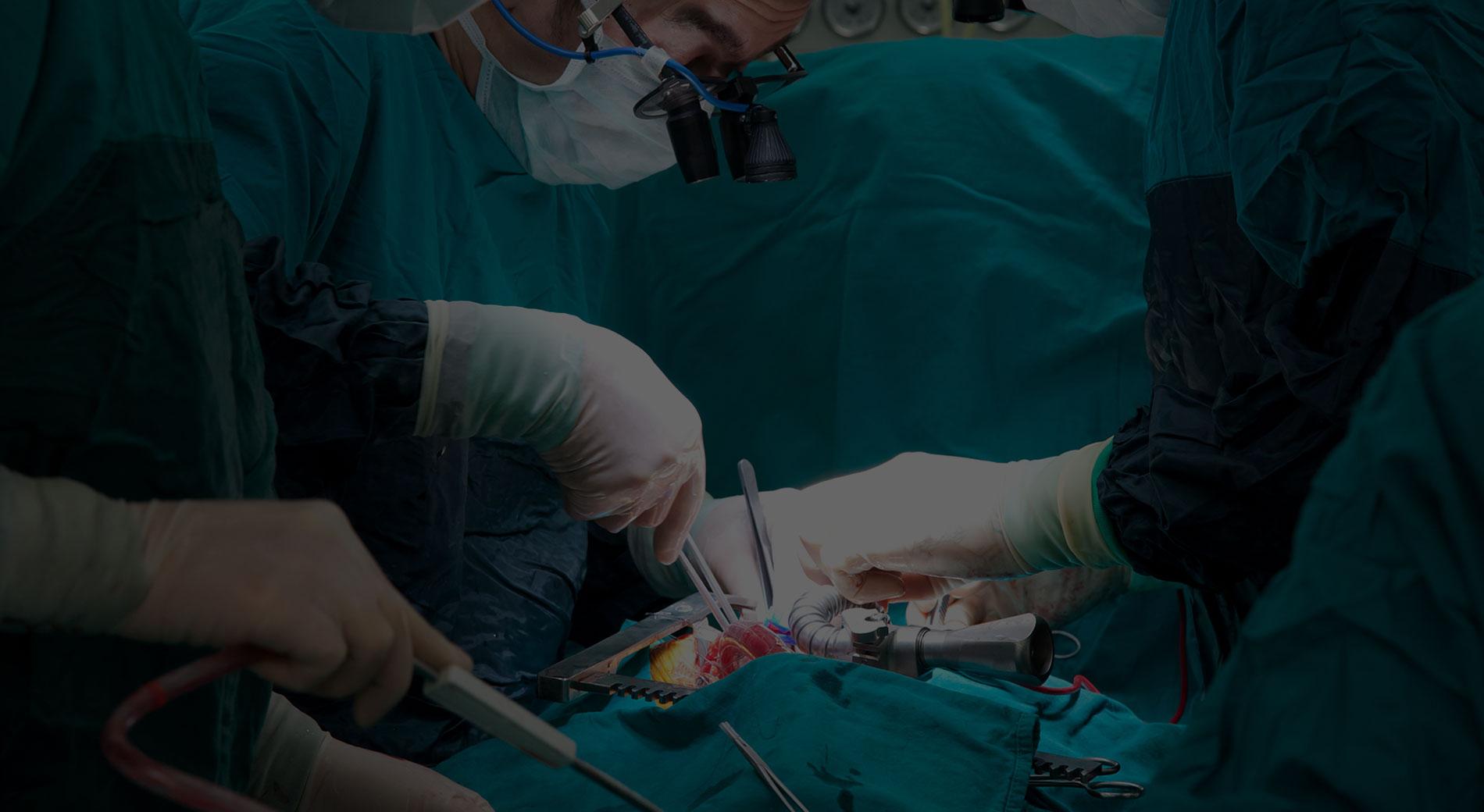 Foto scattata durante un'intervento chirurgico alla prostata